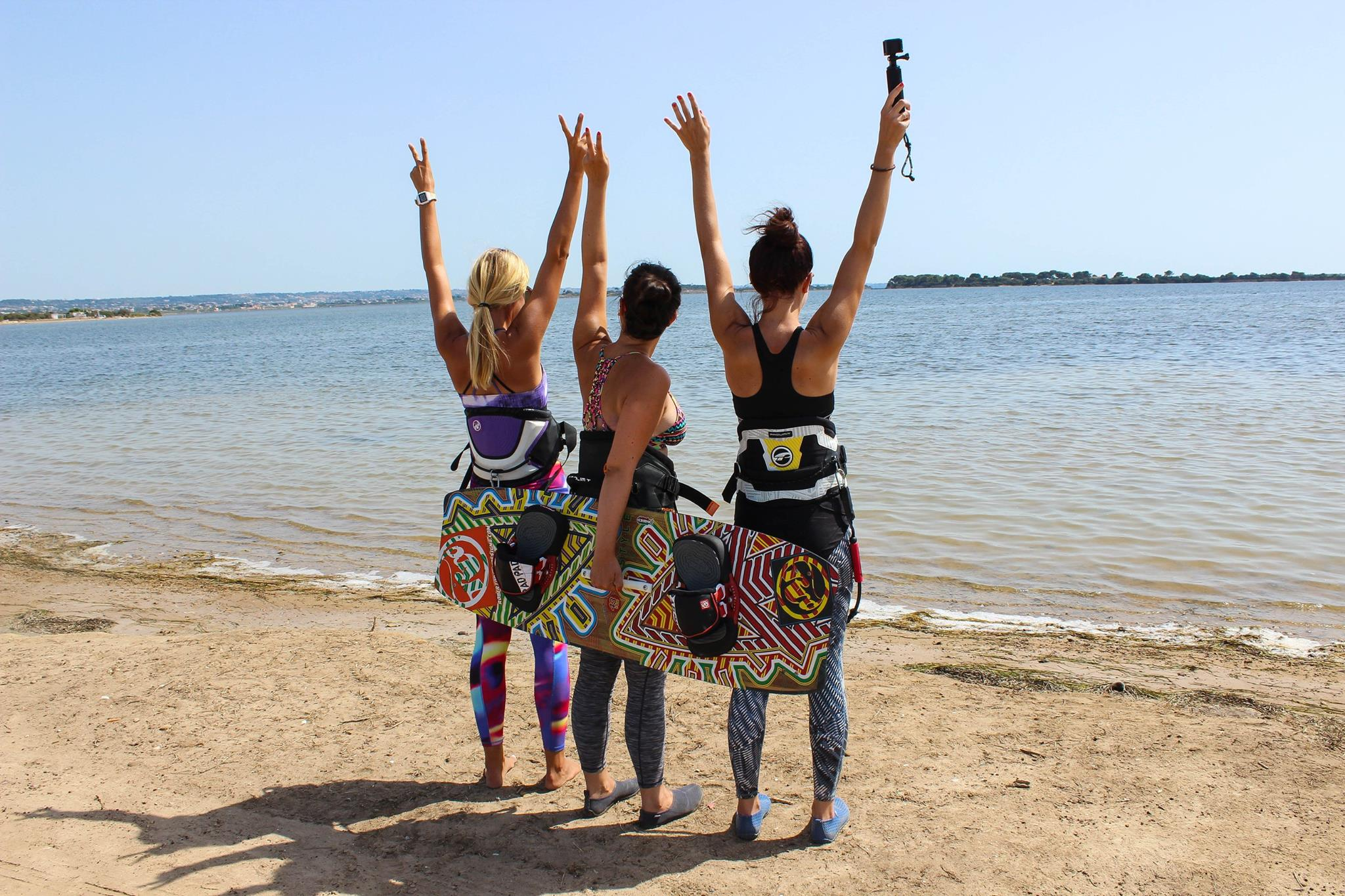 Learn to kitesurf with us