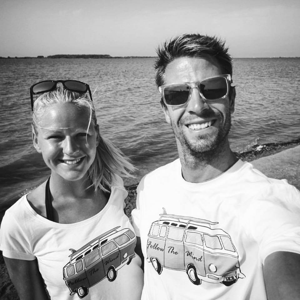 Lilla & Gabor kitesurf instructors