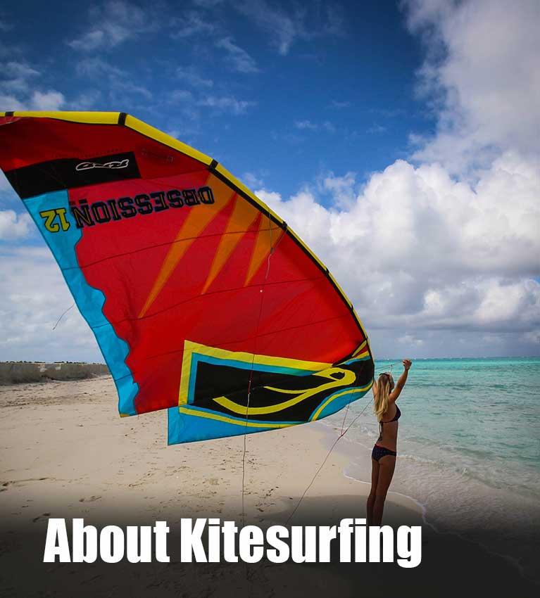 about kitesurfing