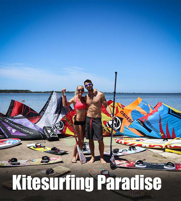 Kitesurfing paradise Sicily
