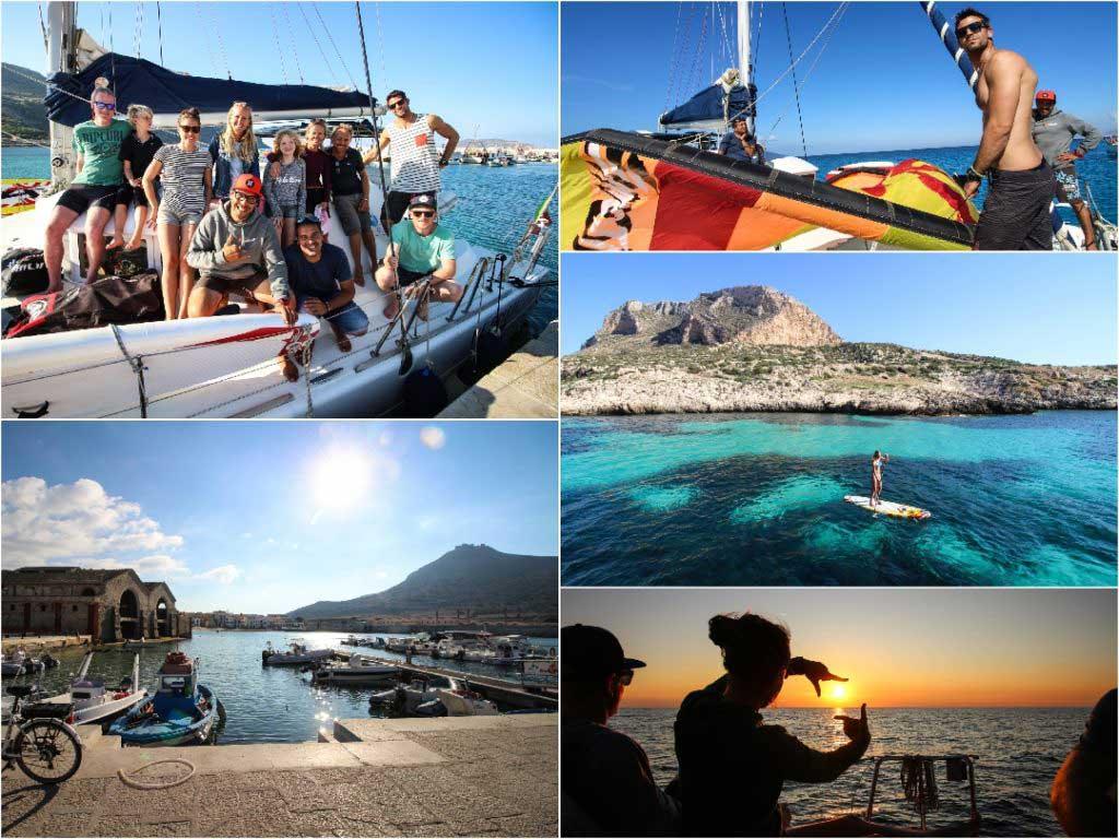 kitesurf safari in Sicily Lo Stagnone