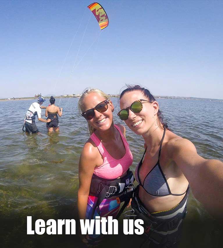 learn kitesurf