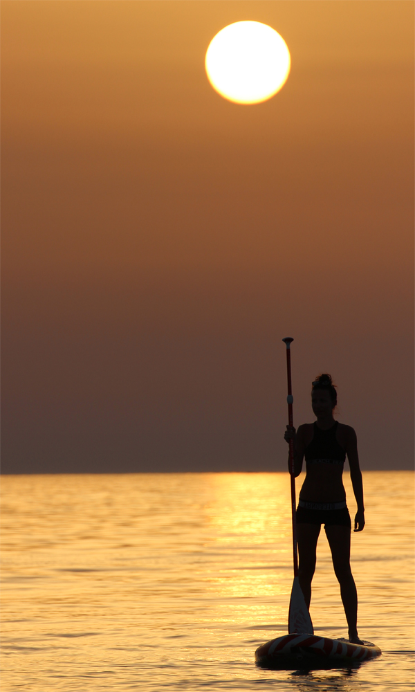 Things to do in sicily sup sunset