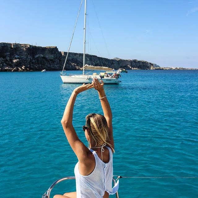 Boat trip around the Egadi Islands