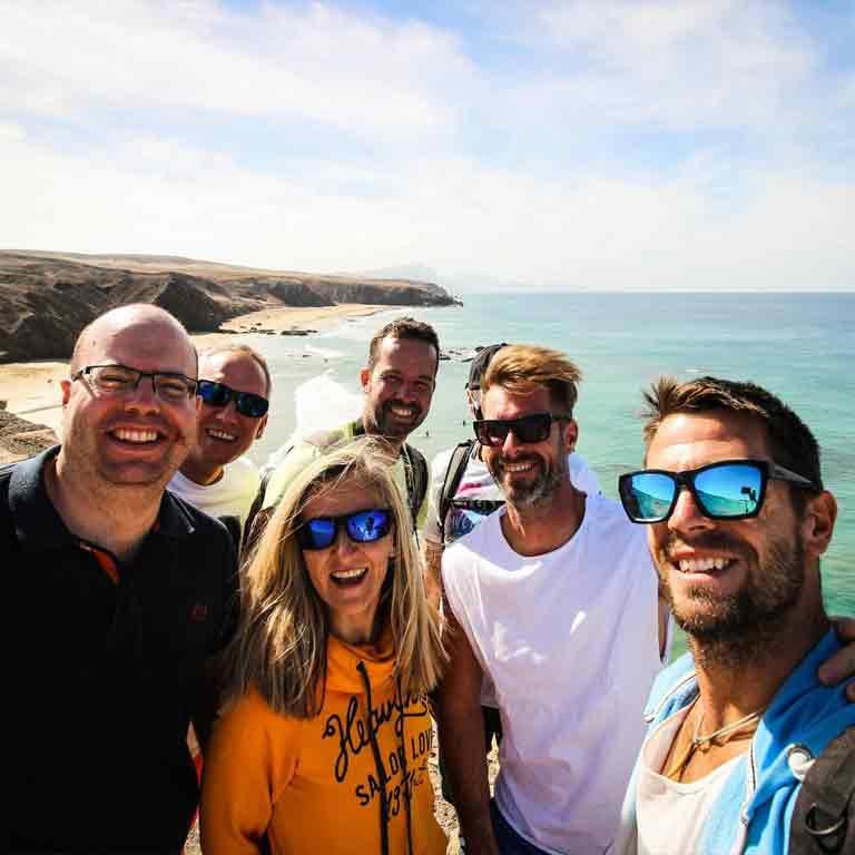 Kitesurf surf spot Fuerteventura