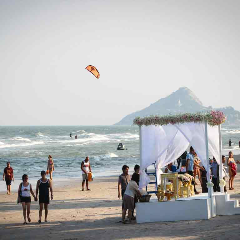Thailand Hua Hin Kitesurf spot