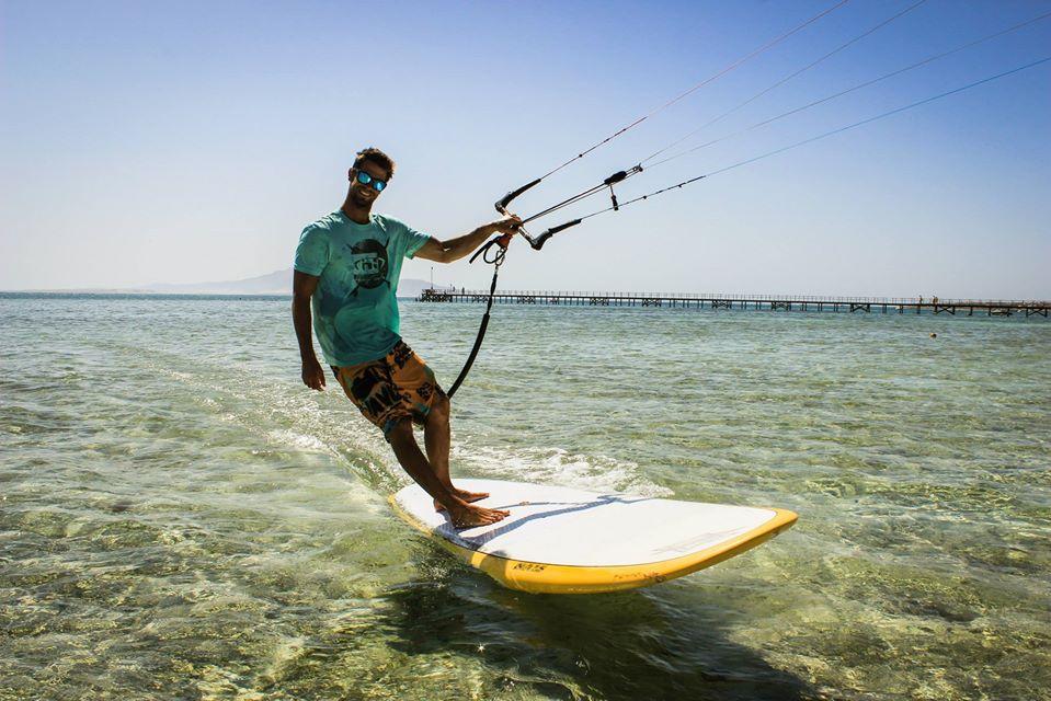 kitesufing in Egypt Sharm el Sheikh