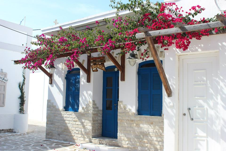 Tradicional Greek houses