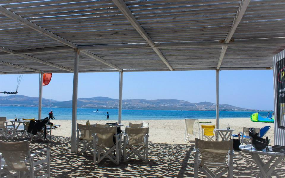 Kitesurfing in Greece  Paros kitesurf center Pounta