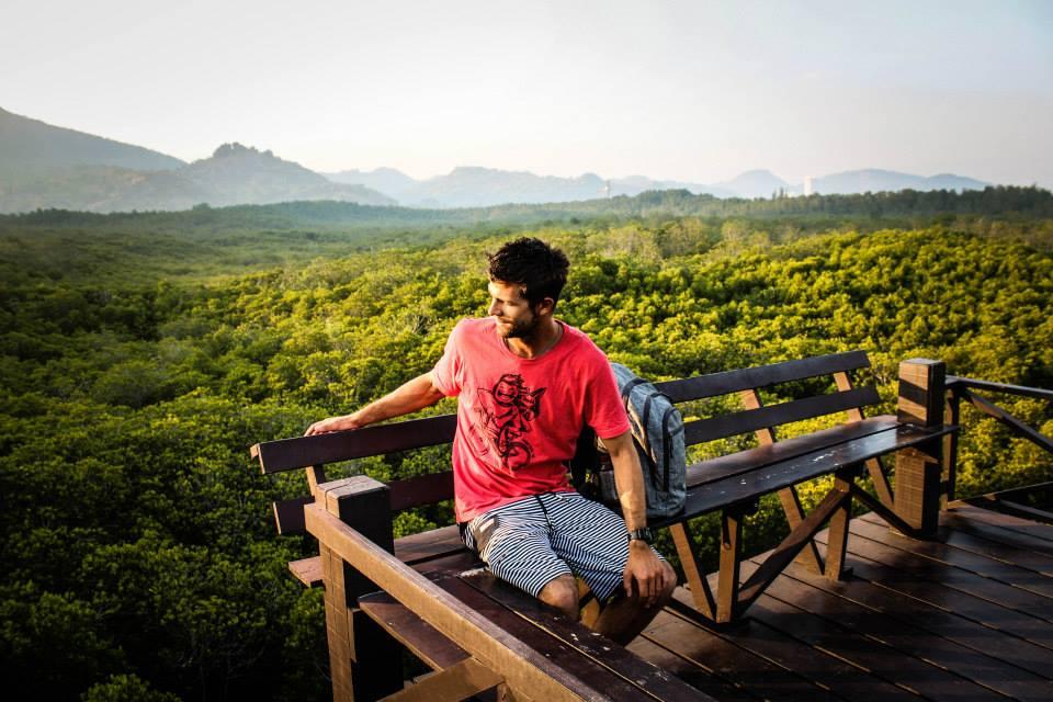 Mangroove forest Pran buri Thailand thailand