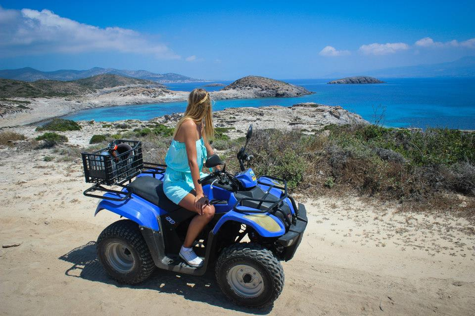 quad trip on AntiParos
