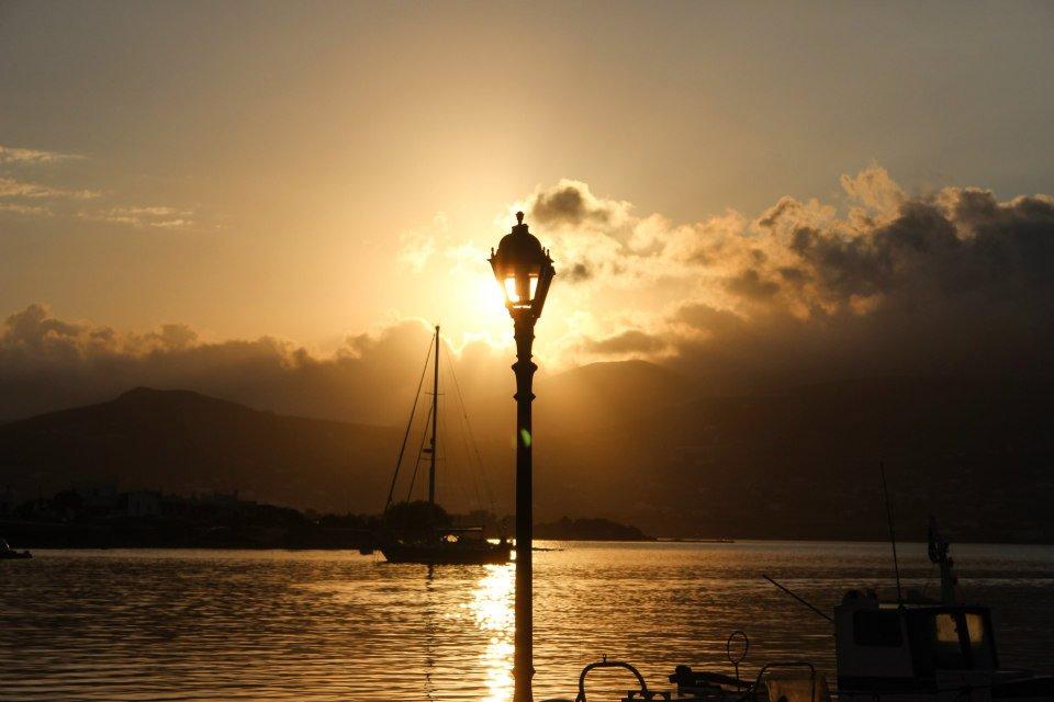 Sunrise on Antiparos