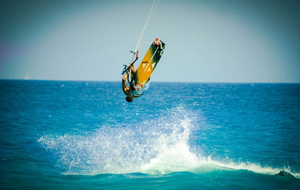 Steady winds kitesurfing  Rhodes airriders kitesurf center Greece