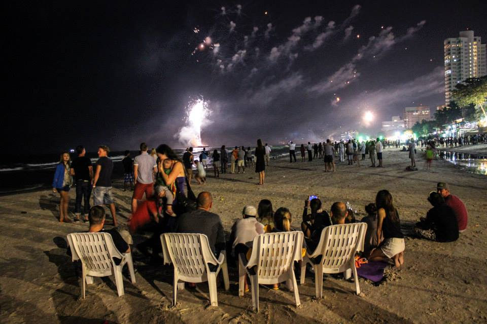 New years eve in Hua Hin