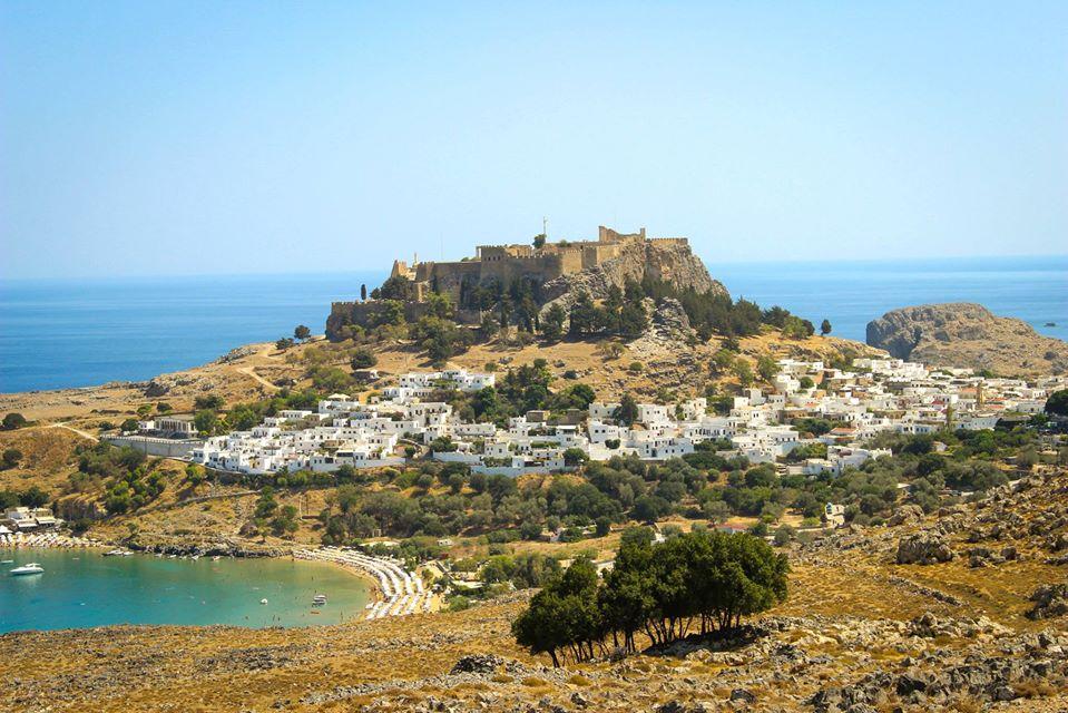 Lindos Castle Rhodes island