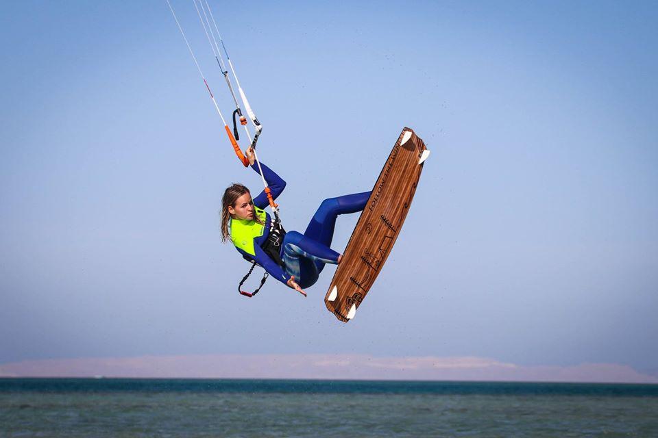 kitesufing in Egypt hurghada