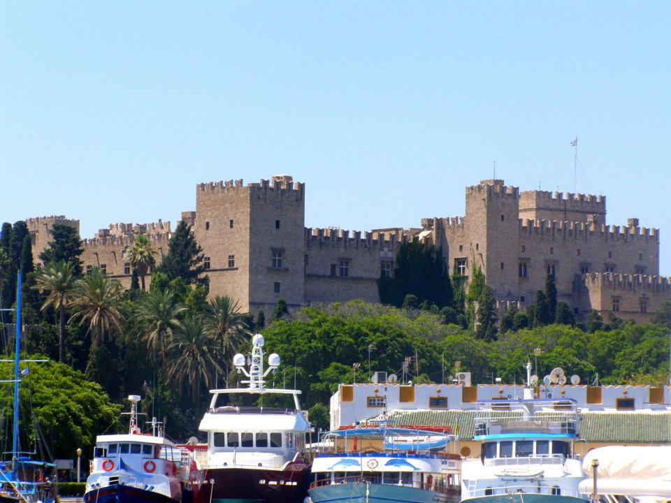 The castle of Rhodes