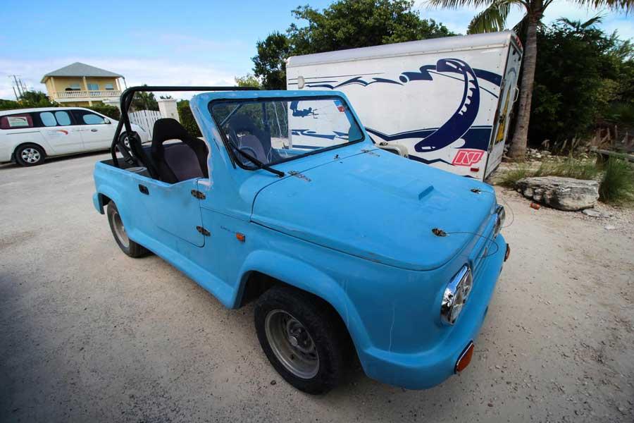 Island Car on Turks and caicos