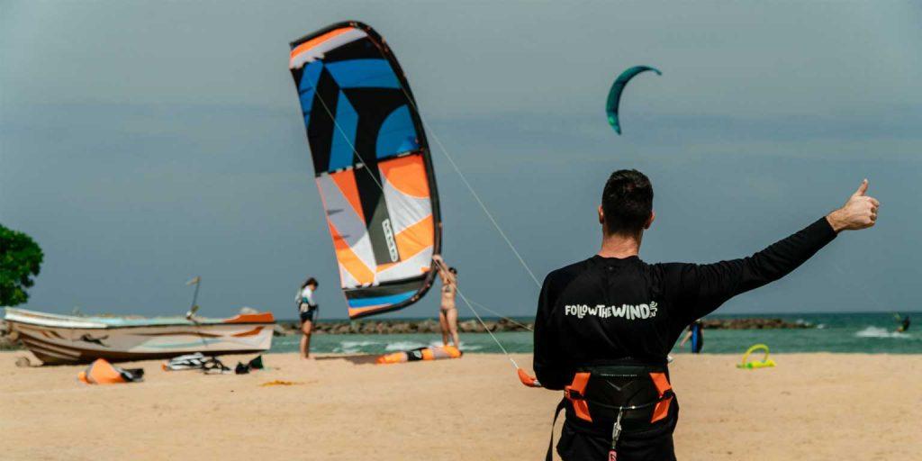 Kalpitiya kitesurfing Sri Lanka