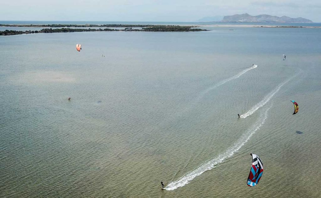 Kitesurfing Sicily after Corona Virus