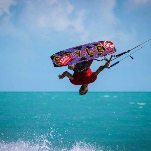 Long bay Turks and Caicos kitesurf spot