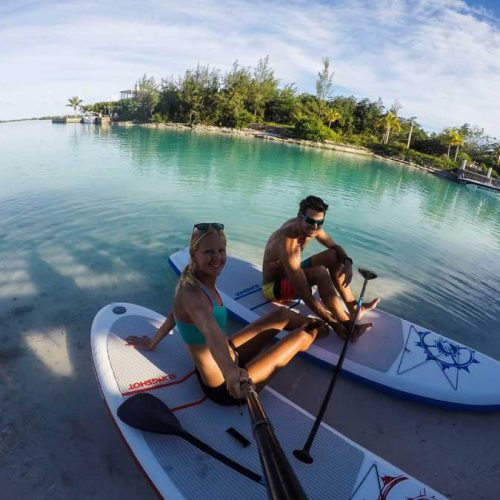 Sup Trip at Little water cay
