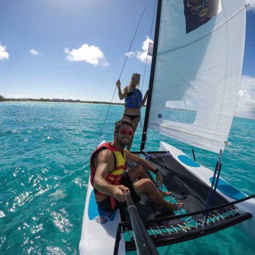 catamaran trip grace bay