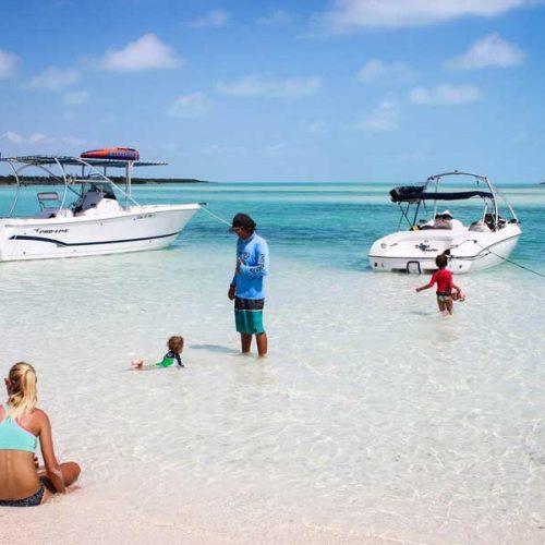 Little Water Cay Iguana Island