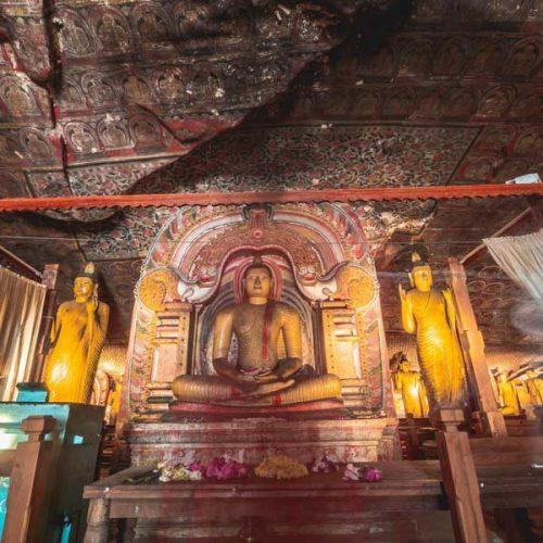 dambulla buddha caves